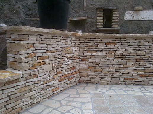 Best muri con pietre with muri con pietre for Muri con pietre a vista